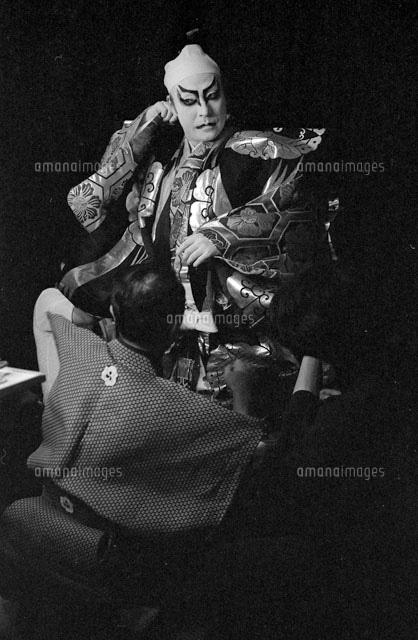 昭和56年7月22日 歌舞伎座 市川 猿之助[22973001234]の写真素材 ...
