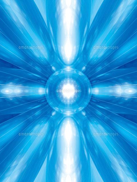 放射状の異次元空間イメージ の写真素材 イラスト素材 アマナイメージズ