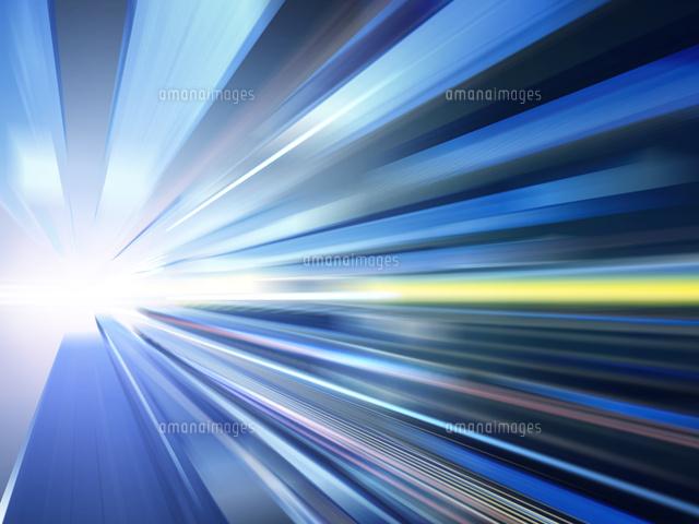 光芒放つ異次元空間 の写真素材 イラスト素材 アマナイメージズ