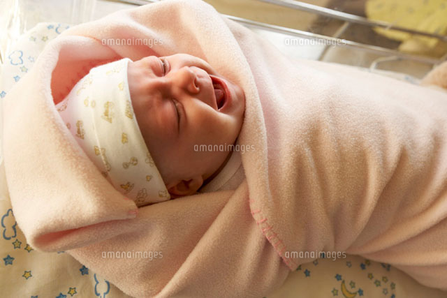 Baby Crying in Bassinet