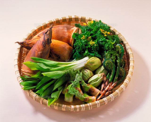 春野菜集合[20013003513]の写真素材・イラスト素材|アマナイメージズ