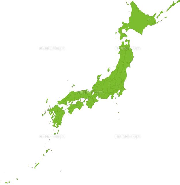 地図 イラスト 日本