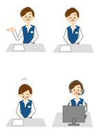 働く女性 10447000459  写真素材・ストックフォト・画像・イラスト素材 アマナイメージズ