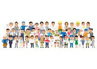 街の人々 10467000634| 写真素材・ストックフォト・画像・イラスト素材|アマナイメージズ