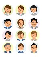 働く人々  ビジネス集団 10467001470| 写真素材・ストックフォト・画像・イラスト素材|アマナイメージズ