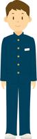 制服を着た男子中学生の全身 11002065636| 写真素材・ストックフォト・画像・イラスト素材|アマナイメージズ