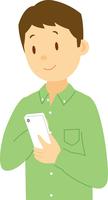 スマホを使う中学生男子 11002065676| 写真素材・ストックフォト・画像・イラスト素材|アマナイメージズ