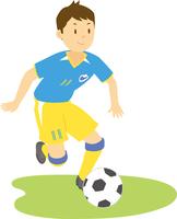 サッカーをする高校生男子 11002065686| 写真素材・ストックフォト・画像・イラスト素材|アマナイメージズ