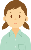 女子中学生のバストショット 11002066529| 写真素材・ストックフォト・画像・イラスト素材|アマナイメージズ