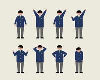 肥満の男子学生(いろいろな感情) 60000000210  写真素材・ストックフォト・画像・イラスト素材 アマナイメージズ