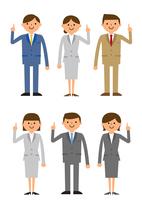 説明するビジネス集団男性女性 60004000010  写真素材・ストックフォト・画像・イラスト素材 アマナイメージズ