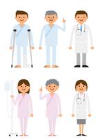 患者と医者 60004000026  写真素材・ストックフォト・画像・イラスト素材 アマナイメージズ