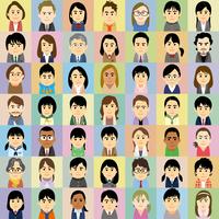 塾講師と学生の集合イラスト 60008000313| 写真素材・ストックフォト・画像・イラスト素材|アマナイメージズ