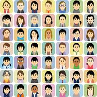 塾講師と学生の集合イラスト 60008000314| 写真素材・ストックフォト・画像・イラスト素材|アマナイメージズ
