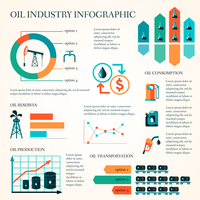 World oil production distribution and petroleum extraction rate infographics diagram layout report presentation design vector il 60016003096  写真素材・ストックフォト・画像・イラスト素材 アマナイメージズ