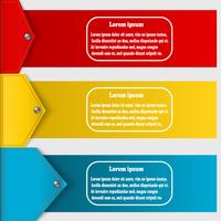 Set of abstract banners to create infographics. Vector illustration 60016013507  写真素材・ストックフォト・画像・イラスト素材 アマナイメージズ