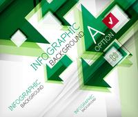 Infographic abstract background - arrow geometric shape. For business presentation   technology   web design 60016014042  写真素材・ストックフォト・画像・イラスト素材 アマナイメージズ
