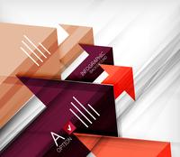 Infographic abstract background - arrow geometric shape. For business presentation   technology   web design 60016014043  写真素材・ストックフォト・画像・イラスト素材 アマナイメージズ