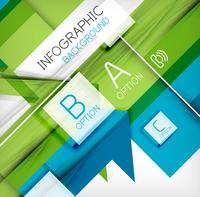 Infographic abstract background - arrow geometric shape. For business presentation   technology   web design 60016014044  写真素材・ストックフォト・画像・イラスト素材 アマナイメージズ