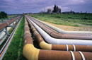 Cooling pipes for a methanol plant