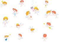 複数の天使のイメージ 02419000065| 写真素材・ストックフォト・画像・イラスト素材|アマナイメージズ