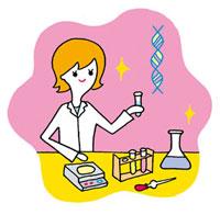 化学の実験をする女性 02419000066| 写真素材・ストックフォト・画像・イラスト素材|アマナイメージズ