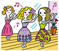 フラダンス教室のイメージ 02419000091| 写真素材・ストックフォト・画像・イラスト素材|アマナイメージズ