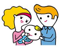 赤ちゃんにミルクを飲ませる母親と父親 02419000094| 写真素材・ストックフォト・画像・イラスト素材|アマナイメージズ