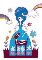 オシャレなドレスを着た女性 02419000109| 写真素材・ストックフォト・画像・イラスト素材|アマナイメージズ