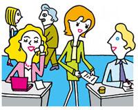 外資系オフィスの風景 02419000112| 写真素材・ストックフォト・画像・イラスト素材|アマナイメージズ