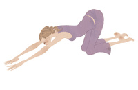 ストレッチをする女性 02674000081| 写真素材・ストックフォト・画像・イラスト素材|アマナイメージズ