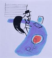 書斎で仕事をする男性 20037001619  写真素材・ストックフォト・画像・イラスト素材 アマナイメージズ